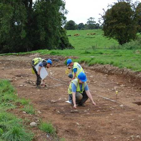 Image showing excavation during Meath DBO scheme